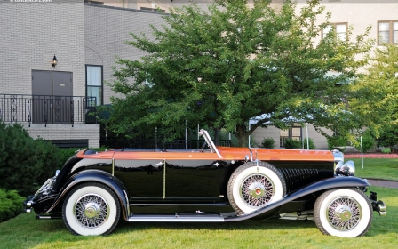 Duesenberg - Model J Murphy Disappearing Top Convertible Coupe