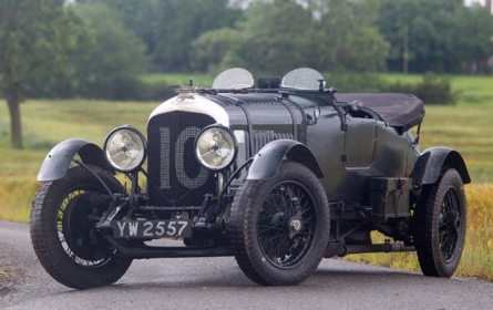 Bentley - 4.5 Litre Le Mans Sports Bobtail