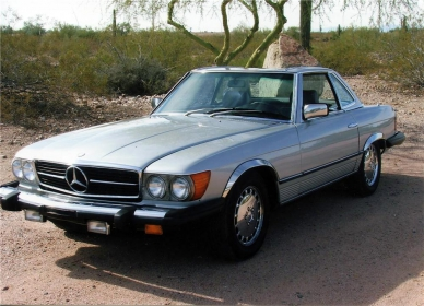 Mercedes Benz - 380 SL